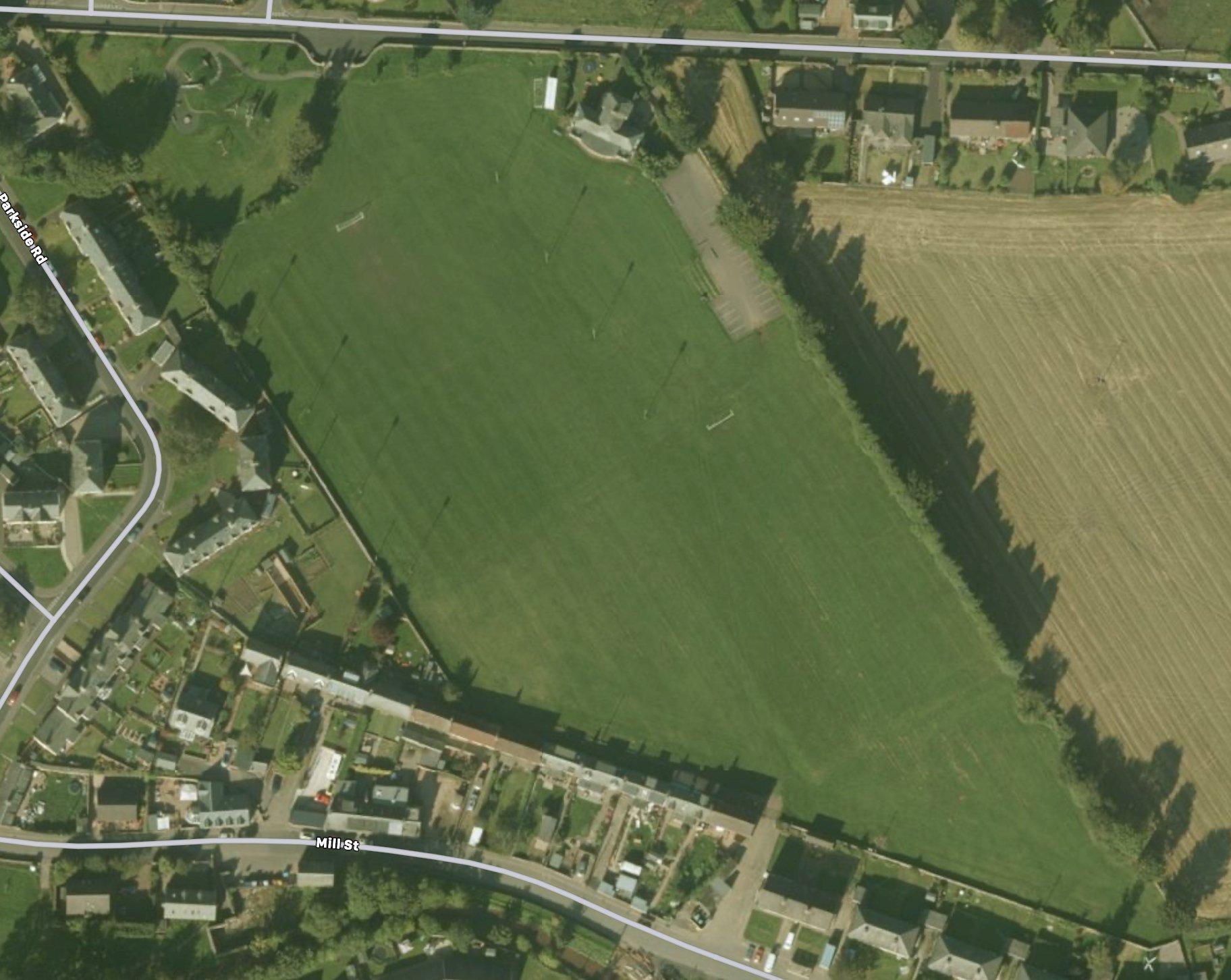 Jubilee Park aerial view